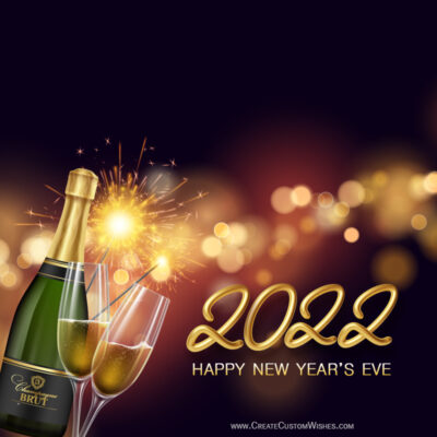 Happy New Year's Eve 2022 Wishes Image