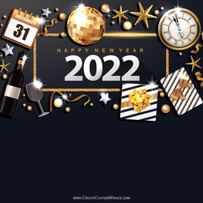 Happy New Year's Eve 2022 with Name