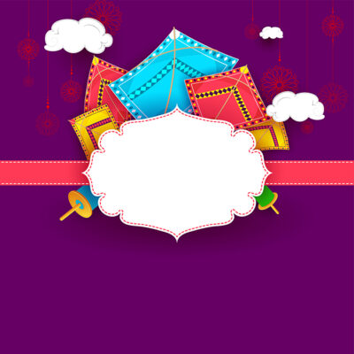Add Logo & Name on Makar Sankranti Image