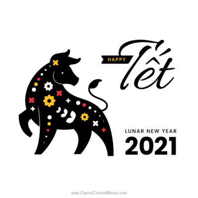 Create Happy Tết Viet 2021 Greetings