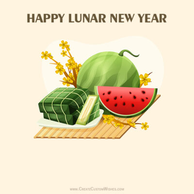 Create Lunar New Year Image with Name