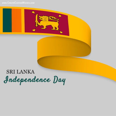 Edit Sri Lankan Independence Day eGreeting