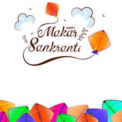 Editing Makar Sankranti with Name Image
