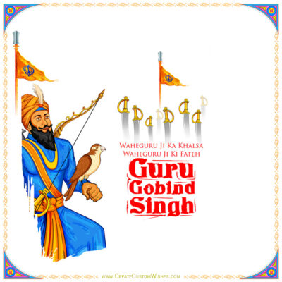 Guru Gobind Singh Jayanti Wishes Images, Messages