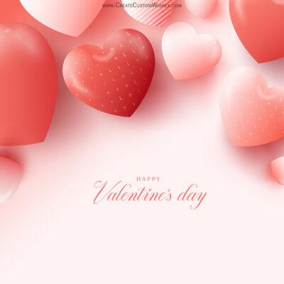Online Edit Valentine's Day Greeting