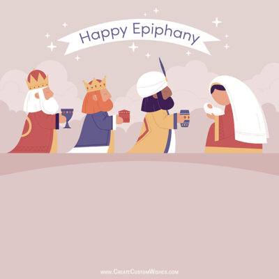 Personalize Epiphany Image with Name