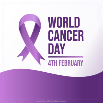 Personalize World Cancer Day Image