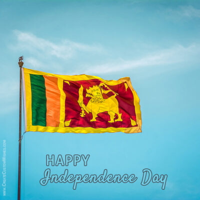 Sri Lanka Independence Day Wishes Image, Quote