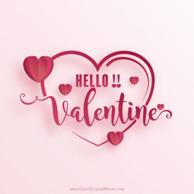 Valentine's Day Greeting Card Creator!