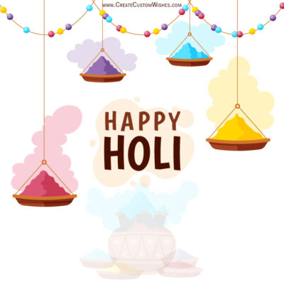 Create Holi 2021 Image for Business