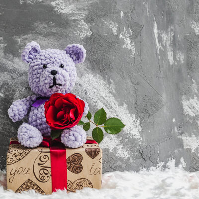 Create Teddy Day with Name & Photo