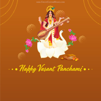 Create Vasant Panchami Card for Business
