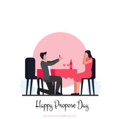 Edit Happy Propose Day 2021 Wishes Card