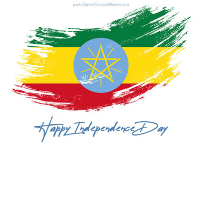 Create Ethiopia Independence Day Wishes