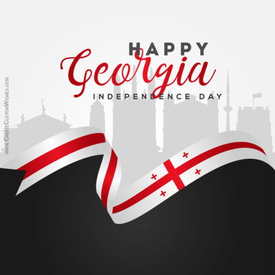 Create Georgia Independence Day Wishes