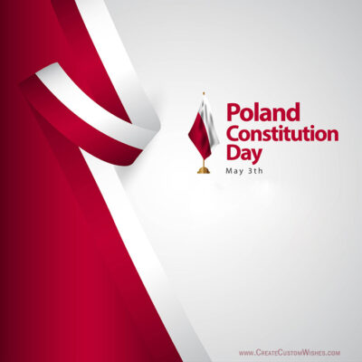 Create Poland Constitution Day Wishes
