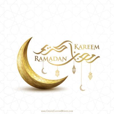 Create Ramadan Eid Mubarak for Company