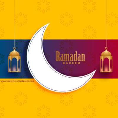 Create Ramazan Eid Card for Business