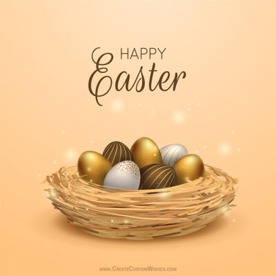 Easter Greeting Card for Business