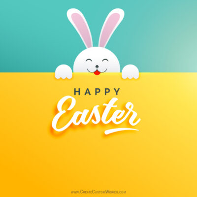 Greeting Card for Easter Day 2021