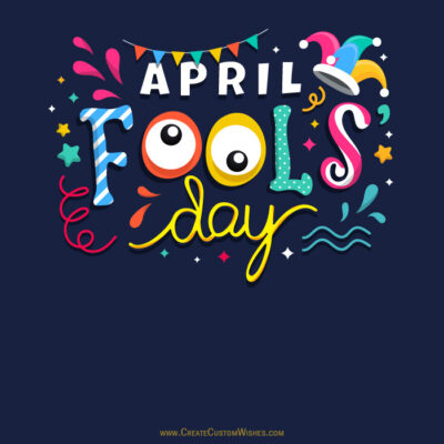 Online Editable April Fools Day Card