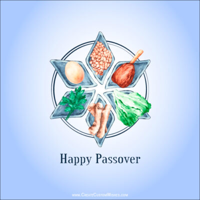 Passover Greetings for Israel, Canada