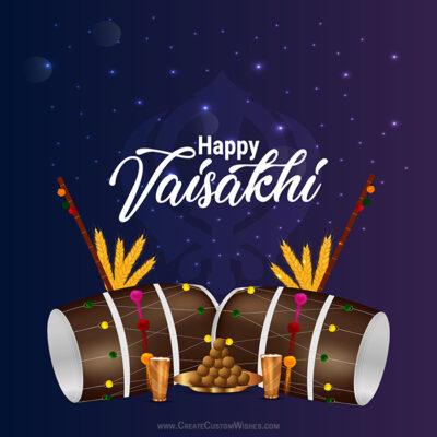 Vaisakhi Wishes Image for Canada, USA