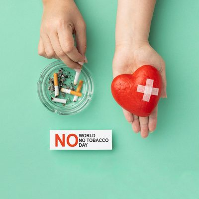 Write Text on World No Tobacco Day Pic
