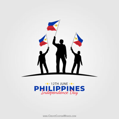 Add Name on Philippines Independence Day Image
