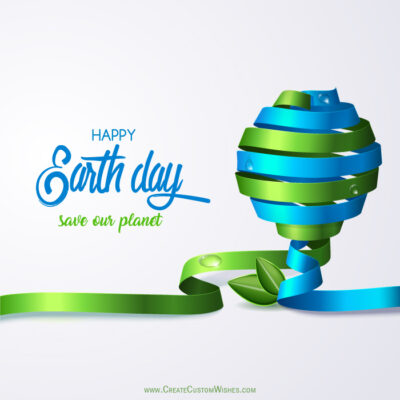 Create Earth Day Greeting for Business
