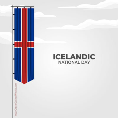 Create Icelandic National Day for Company
