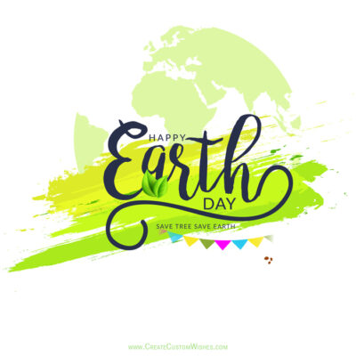 Customized Earth Day Wishes for Company