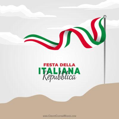 Festa della Repubblica Wishes Images, Messages