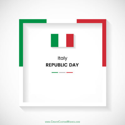 Festa della Repubblica Wishes for Business