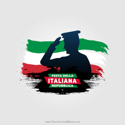 Greeting cards for Festa della Repubblica