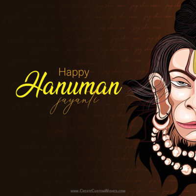 Greetings Card for Hanuman Jayanti 2021