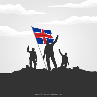 Iceland National Day Wishes Images, Messages