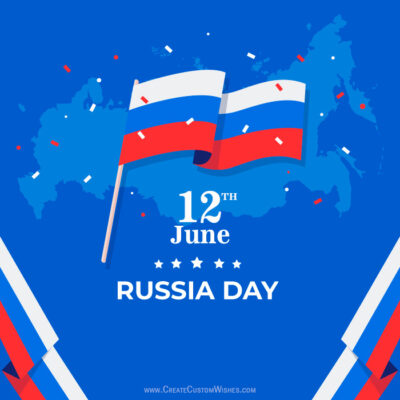 Russia Day Wishes Images, SMS, Quote