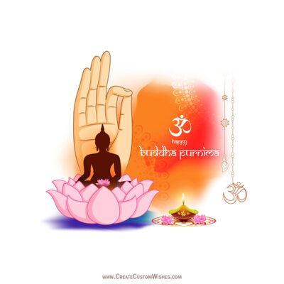 Add Name on Happy Buddha Purnima Image