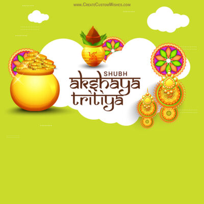 Akshaya Tritiya Wishes Card for Company