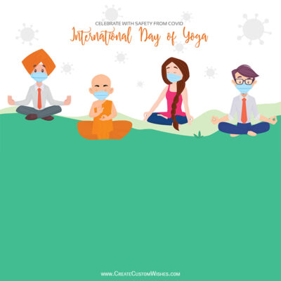Celebrate Yoga Day with Safety from Covid-19