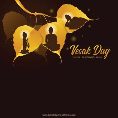 Create Vesak Day Image for Company