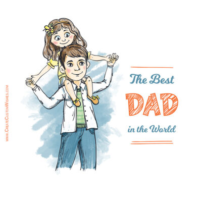 Father and Daughter - Father's Day Images