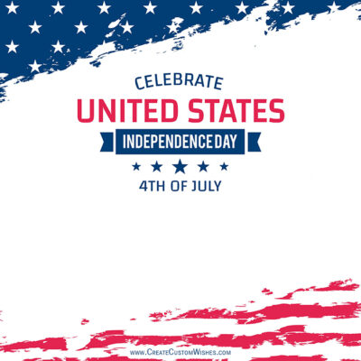 Greeting Cards for 4th of July 2021 USA