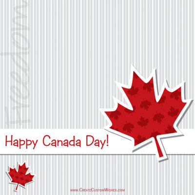 Greeting Cards for Canada Day 2021