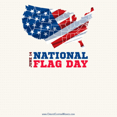 Greeting Cards for Flag Day 2021 USA