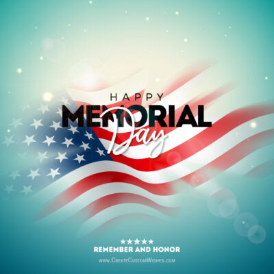 Greeting Cards for Memorial Day 2021