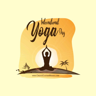Greeting Cards for Yoga Day 2021 Wishes