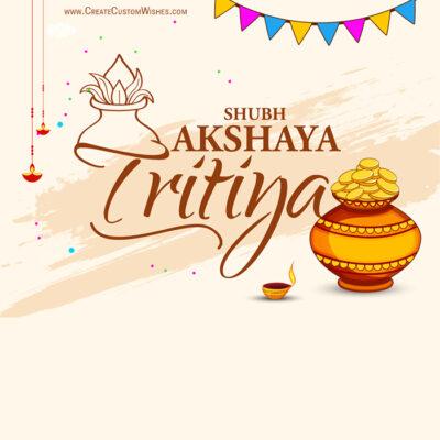 Greetings Card for Akshaya Tritiya 2021