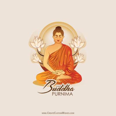 Greetings Card for Buddha Purnima 2021